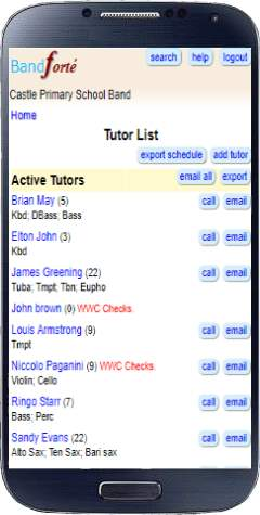 Contact Tutors so simply
